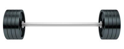 Barbells stock de ilustración
