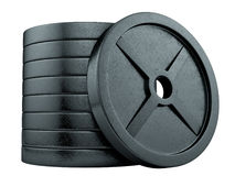 Barbells Stock Image