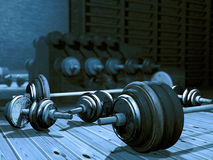 barbells Fotos de Stock Royalty Free
