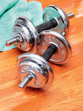 Barbells Stock Images
