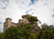 Barben Castle Royalty Free Stock Photography