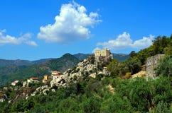 barbena castelvecchio di Italy rocca Savona Zdjęcie Royalty Free