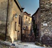 Barbena de Castelvecchio di rocca (Sabona) ital Fotos de archivo libres de regalías