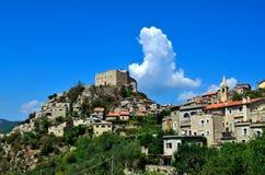 Barbena de Castelvecchio di rocca (savona) Italie Photographie stock