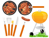 Barbeque. Illustration,AI file included stock illustration