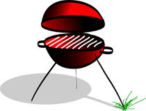 Barbeque. Time, simpel illustration for use in flyer vector illustration