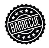 Barbeque stamp in italian royalty free illustration