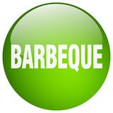 Barbeque button. Barbeque round button isolated on white background. barbeque vector illustration