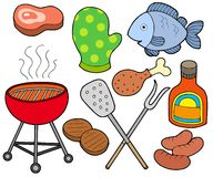 Barbeque collection. On white background - vector illustration vector illustration