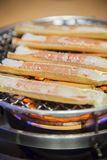 Barbeque crab legs Royalty Free Stock Photo