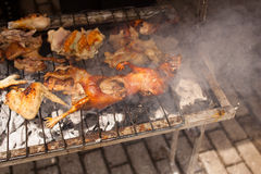 Barbeque Cuy (Guinea pig) Stock Image