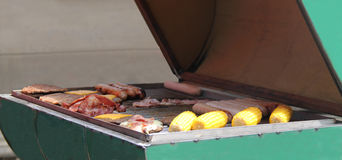 Barbeque Food. Stock Image