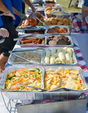 Barbeque. Food at a summer barbeque Royalty Free Stock Images