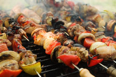 Barbeque grill 3 Royalty Free Stock Photography