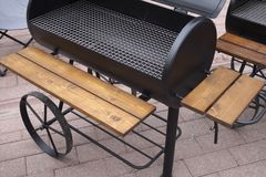 Barbeque grill. Royalty Free Stock Photos