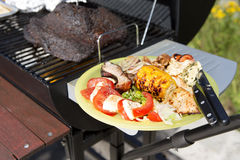 Barbeque grill outdoor Stock Photography