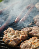 Barbeque grill Royalty Free Stock Image