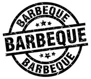 barbeque stamp royalty free illustration