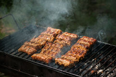 Barbeque meat Stock Image