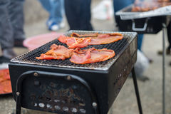 Barbeque meats Stock Images