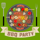 Barbeque party Royalty Free Stock Photo