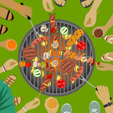 Barbeque party Stock Images