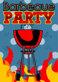 Barbeque Party poster Royalty Free Stock Photo