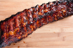 Barbeque pork ribs Stock Image