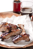Barbeque pork ribs Stock Images