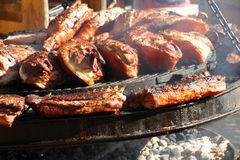 Barbeque Pork Royalty Free Stock Images