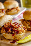 Barbeque Pulled Pork Sandwiches Royalty Free Stock Image