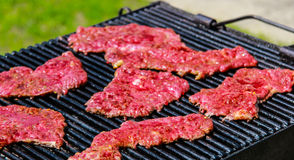 The Barbeque is ready Royalty Free Stock Photography