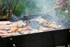 Barbeque is ready Stock Photos