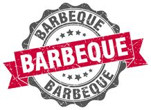 Barbeque seal royalty free illustration