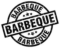Barbeque stamp. Barbeque grunge vintage stamp isolated on white background. barbeque. sign royalty free illustration