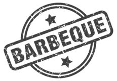 Barbeque stamp. Barbeque grunge vintage stamp isolated on white background. barbeque. sign vector illustration