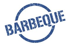 Barbeque stamp. Barbeque round grunge stamp. barbeque sign. barbeque vector illustration