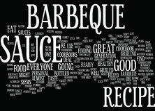 Barbeque Techniques Two Methods To Consider Word Cloud Concept. Barbeque Techniques Two Methods To Consider Text Background Word Cloud Concept stock illustration
