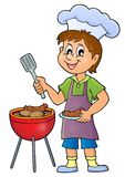 Barbeque theme image 1. Eps10 vector illustration vector illustration