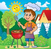 Barbeque theme image 2 vector illustration