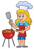 Barbeque theme image 4. Eps10 vector illustration vector illustration