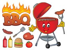 Barbeque theme set 2. Eps10 vector illustration stock illustration