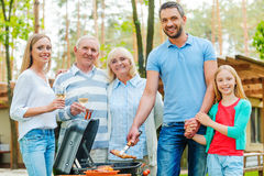 Barbeque time. Stock Photography