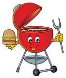 Barbeque topic image 5 vector illustration