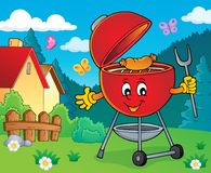Barbeque topic image 4. Eps10 vector illustration stock illustration