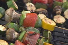 Barbeque Vegetables Royalty Free Stock Photography