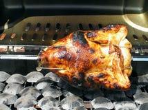barbequed цыпленок стоковое фото rf