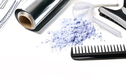 Barber Accessories Stock Photography