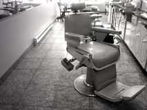 Barber Chair Royalty Free Stock Photos