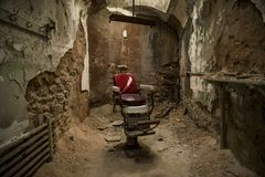 Eastern State Penitentiary in Philadelphia royalty free stock image